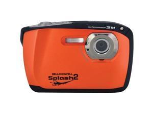 BELL+HOWELL WP16-O 16.0 Megapixel WP16 Splash2 HD Underwater Digital Camera ,Orange