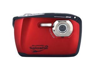BELL+HOWELL WP16-R 16.0 Megapixel WP16 Splash2 HD Underwater Digital Camera ,Red