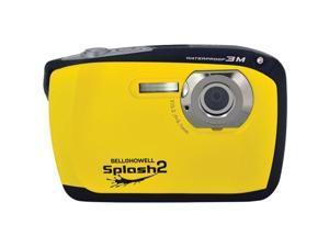 BELL+HOWELL WP16-Y 16.0 Megapixel WP16 Splash2 HD Underwater Digital Camera ,Yellow