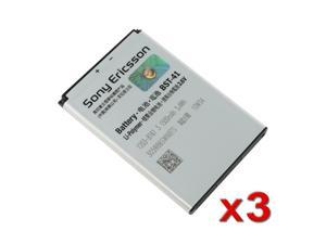 3X Orginal OEM Sony Ericsson BST-41 Original Battery Xperia Play Xperia X1 Xperia X10