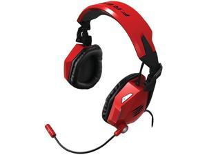 Mad Catz F.R.E.Q. 7 Surround Sound Gaming Headset for PC  - Red