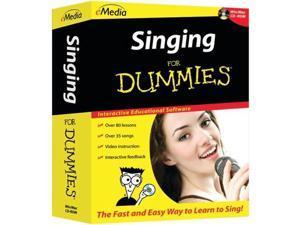 Emedia Fd08111 Singing For Dummies