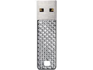 SanDisk SDCZ55-032G-A46S Cruzer Facet USB Flash Drive ,Silver&#59; 32GB