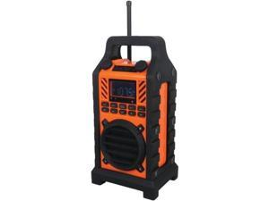 Sylvania SP303 ORANGE Water-Resistant Outdoor Bluetooth (R ) Speaker