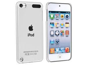 eForCity Clip-on Crystal Case Compatible With Apple® iPod Touch 5 / 5th / 5 th / Gen5 / 5 Gen / 5 Generation , Clear Rear