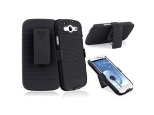 Samsung Galaxy S III i9300 Holster w/ Stand , Black