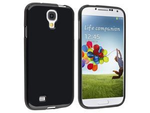 eForCity Black TPU Case + Matte Screen Protector + Charger + Black Headphone Compatible with Samsung© Galaxy SIV 4 S4 i9500