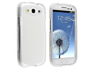 Samsung Galaxy S III i9300 Clip-on Crystal Case , Clear