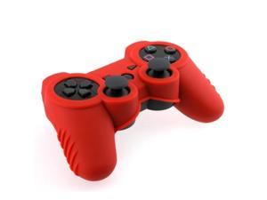 Blue & Red Silicone Skin Case Combo for PS3 Controller