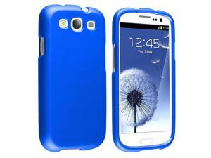 Samsung Galaxy S III i9300 Clip-on Rubber Case, Blue