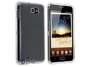 eForCity Snap-on Crystal Case Compatible with Samsung© Galaxy Note N7000/ I717, Clear