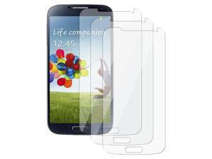 eForCity 6-Pack Reusable Clear Screen Cover Shield Compatible with Samsung© Galaxy S IV / S4/ I9500/ I9505