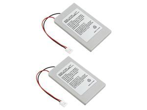 2X 1800mAh Replacement Battery For PS3 Slim Remote Controller