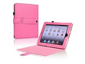 eForCity Leather Case Compatible With Apple iPad, Pink