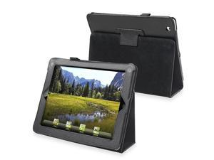 Leather Case w/ Stand Compatible With Apple iPad 2/ipad 4 / ipad with Retina display, Black