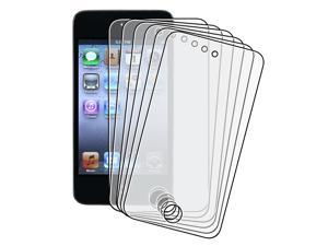 6-piece Reusable Anti-Glare Screen Protector compatible with Apple iPod touch 4th Generation