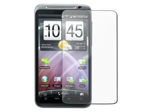 eForCity Car Charger + Screen Protector For HTC ThunderBolt 4G