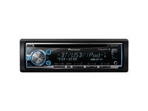 Pioneer DEH-X6700BS Single-Din In-Dash CD Receiver with MIXTRAX, Bluetooth, SiriusXM & Pandora Ready, Siri Eyes Free, USB, Android Music Support & Color Customization