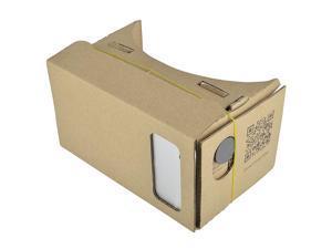Cardboard Virtual Reality Glasses with Headband, Brown