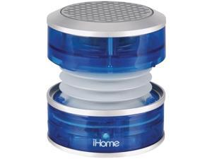 iHome iM60LT iHome iHM60 Speaker System - Translucent Blue - USB - iPod Supported