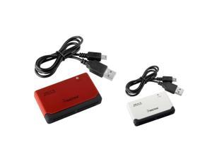 eForCity White / Black 26-In-1 USB 2.0 Flash Memory Card Reader/Writer with FREE Red / Black Memory Card Reader