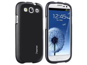 Samsung Galaxy S III i9300 Clip-on Rubber Case , Black