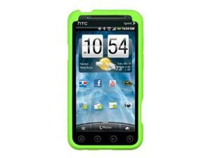 HTC EVO 3D Gel Skin Case Cover - Green