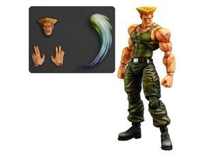 Super Street Fighter IV Guile Play Arts Kai Figure