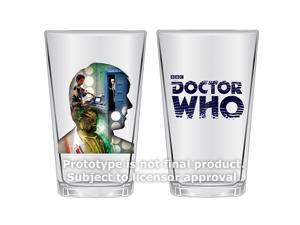 PREORDER Doctor Who Anniversary Fifth Doctor 16 oz Glasses Set of 2
