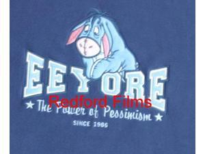 Disney Eeyore Embroidered Fleece Sweatshirt Size Small