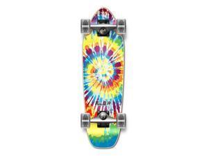 "Complete Longboard Mini Cruiser/ Banana Cruiser Skateboard 27"" X 8"" - TIEDYE - ORIGINAL"