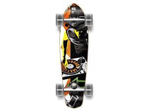 "Complete Graphic Longboard MiCro Cruiser Skateboard 25"" X 7"" - MIXITUP"