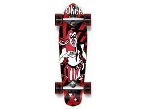 "Complete Graphic Longboard MiCro Cruiser Skateboard 25"" X 7"" - JOKER"