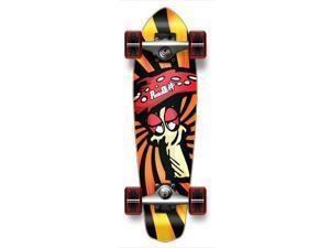 "Complete Graphic Longboard MiCro Cruiser Skateboard 25"" X 7"" - SHROOM"