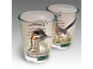 SET OF (2) SHOT GLASSES ROADRUNNER