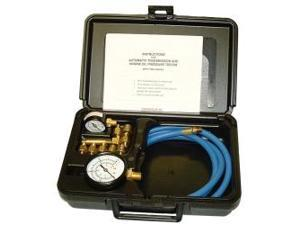 Automatic Transmission And Engine Oil Pressure Tester With Two Gages In Molded Plastic Storage Case