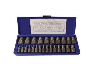 25 Piece Hex Head Multi-Spline Extractor Set