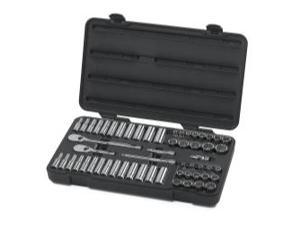 "57 Piece 3/8"" Drive 12 Point SAE/Metric Socket Set"