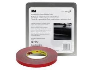"3M Automotive Attachment Tape, Gray, 1/2"" x 20 yds."