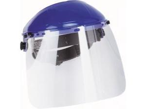 "Grinding Shield with Clear Visor, 8"" x 12"" x .040"""