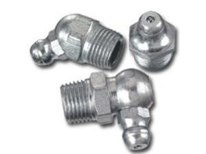 Ten Assorted FTG Grease Fittings in Three Popular Sizes, Blister Packed on One Card