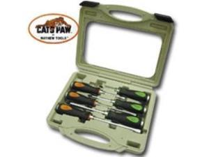 6pc. Capped End Cats Paw Screwdriver Set
