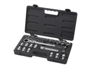 "25 Piece 1/2"" Drive (30mm) GearRatchet Set"