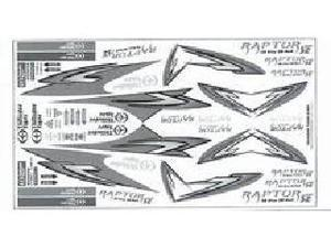 PV0485 Decal Sheet Raptor 50 SE