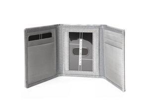 Stewart Stand Men's Wallet Stainless Steel Tri-Fold