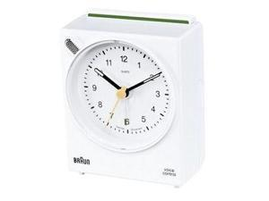Braun Voice Controlled Travel Alarm Clock