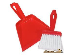 Mini Carpet Dust Pan & Whisk Broom Set