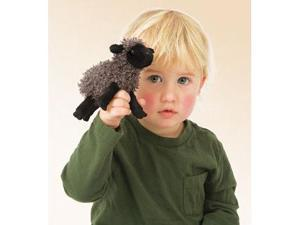 Folkmanis Puppet Mini Black Sheep 6""