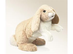 Folkmanis Puppet Rabbit, Floppy Bunny 17""