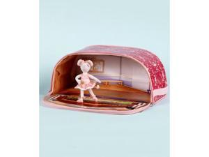 Angelina Ballerina With Zip Bin Ballet Studio - Cloth 6 inch doll